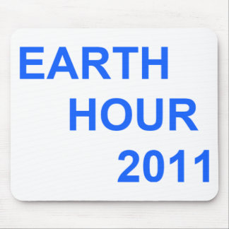 Earth Hour 2011 Mouse Pad