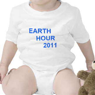 Earth Hour 2011 T-shirts