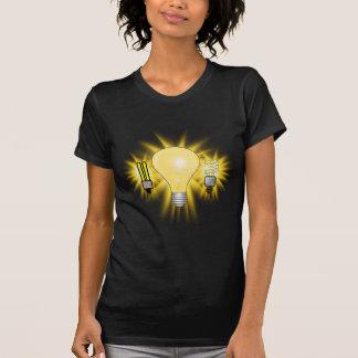 Earth Hour - 2u, Energy saver & Regular Bulb Tshirts