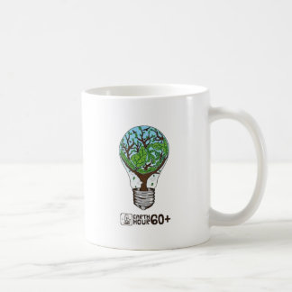 Earth Hour Basic White Mug
