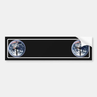 Earth Hour Clock 8:30pm Bumper Sticker