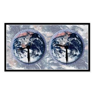 Earth Hour Clocks 830-930 Business Card