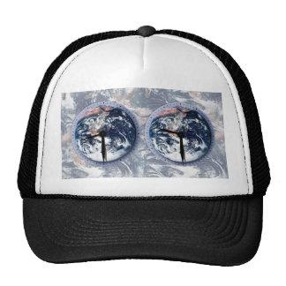 Earth Hour Clocks 830-930 Mesh Hats