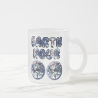 Earth Hour (Earth Text W/Clocks[2]) Mugs