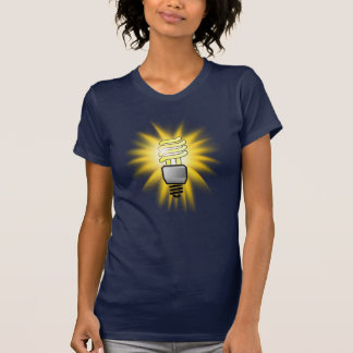 Earth Hour - Energy Saver Light Bulb T-shirt