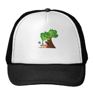earth hour mesh hat