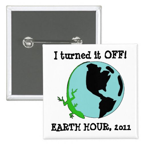Earth Hour, I Turned it OFF Button