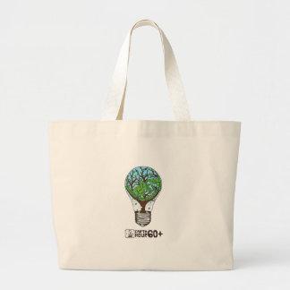 Earth Hour Jumbo Tote Bag