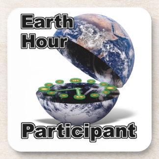 Earth Hour Participant Coasters