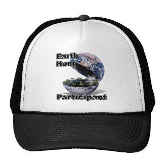 Earth Hour Participant Mesh Hats