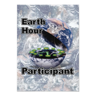 Earth Hour Participant Personalized Announcement