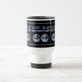 Earth Hour Participant (w/Clocks) Coffee Mugs