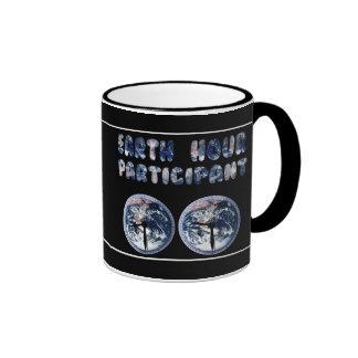 Earth Hour Participant (w/Clocks) Mug