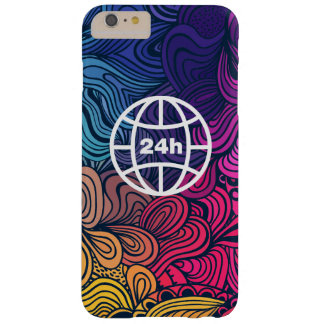 Earth Hours Minimal Barely There iPhone 6 Plus Case