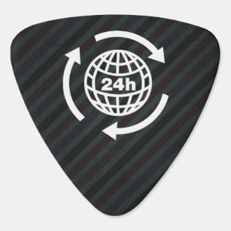 Earth Hours Pictograph Plectrum