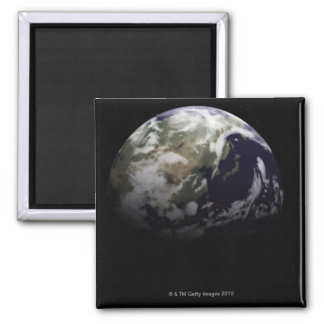Earth in Space Fridge Magnets