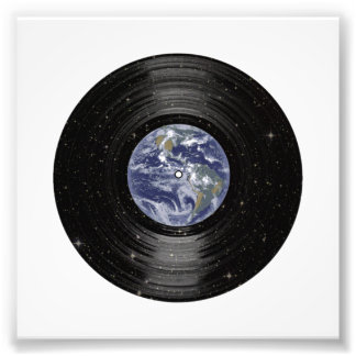 Earth In Space Vinyl LP Record Photo Art