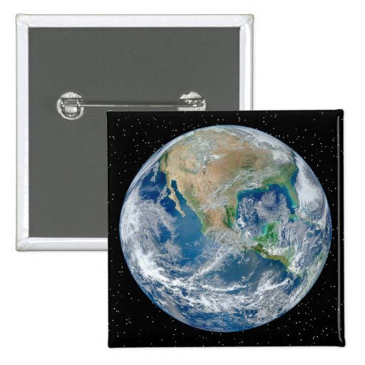 Earth In Star Field - Multiple Products Pinback Buttons