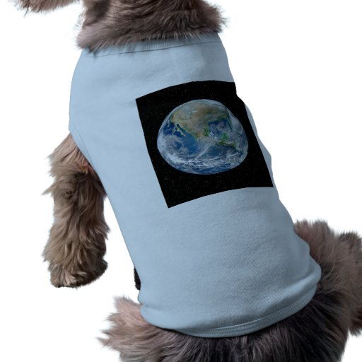 Earth In Star Field - Multiple Products Pet Tshirt