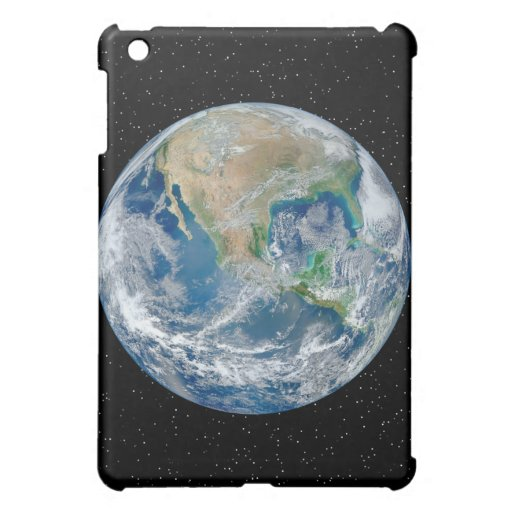 Earth In Star Field - Multiple Products iPad Mini Covers