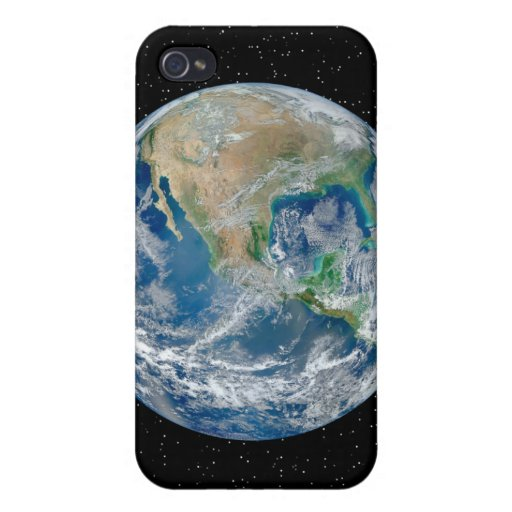 Earth In Star Field - Multiple Products Cover For iPhone 4