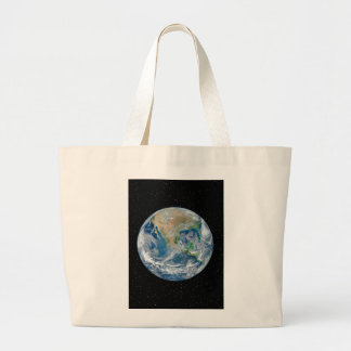 Earth In Star Field - Multiple Products Jumbo Tote Bag