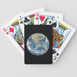 Earth In Star Field - Multiple Products Poker Deck