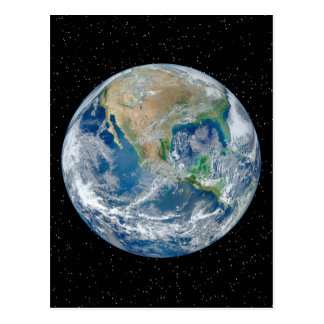 Earth In Star Field - Multiple Products Postcard