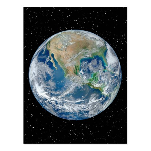 Earth In Star Field - Multiple Products Postcards