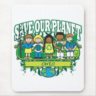 Earth Kids Ohio Mouse Pad