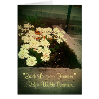 Earth Laughs in Flowers Card