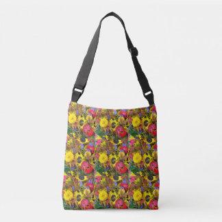 Earth Laughs in Flowers Crossbody bag