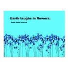Earth Laughs Postcard