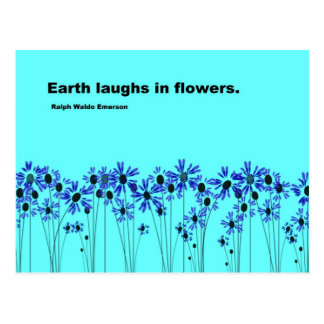 Earth Laughs Postcard