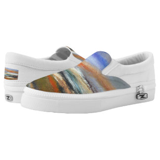 Earth Layers  Abstract Slip on Sneaker