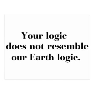 Earth Logic Postcard