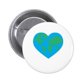 Earth Love Pinback Buttons