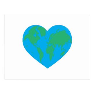 Earth Love Postcard
