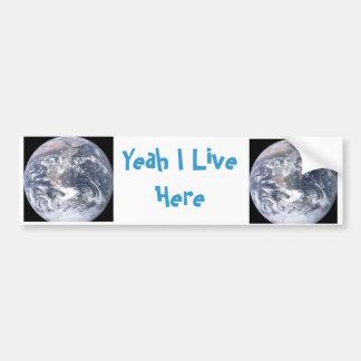 Earth Lovers Bumper Sticker