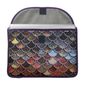 Earth Luxury Glitter Mermaid Scales Sleeve For MacBooks