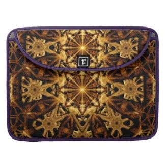 Earth Machine Mandala Sleeve For MacBook Pro