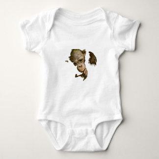 Earth Monkey Baby Bodysuit