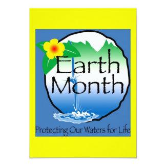 Earth Month Invitation