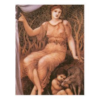 Earth Mother by Edward Burne-Jones Postcard