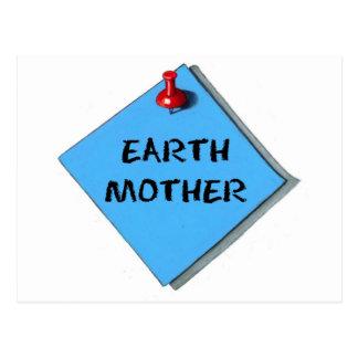 EARTH MOTHER MEMO POSTCARD