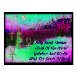 Earth Mother Post Cards