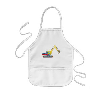 Earth Mover Kids Apron
