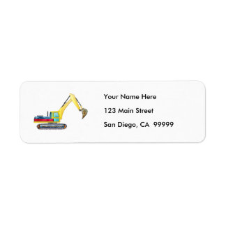 Earth Mover Return Address Label