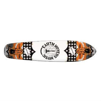 Earth Movers Street Surfer Skateboard Deck