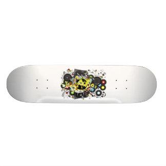 Earth_Music 19.7 Cm Skateboard Deck